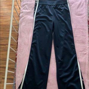 Mid waist track pants